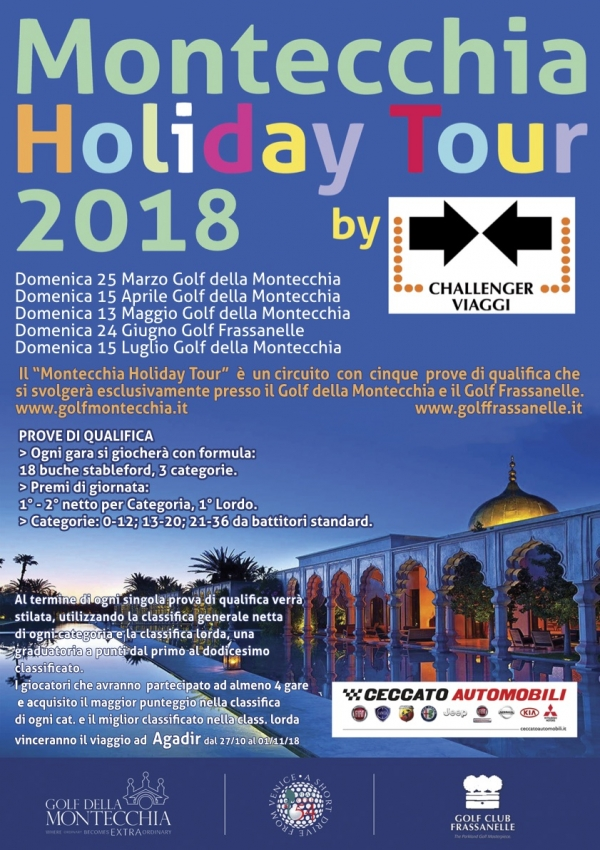 MONTECCHIA HOLIDAY TOUR 2018 - PROSSIME TAPPE