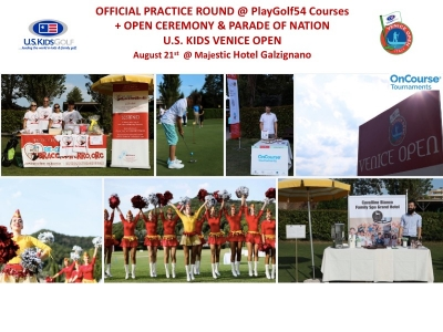Official Practice Round + Open Ceremony & Parade of Nations U.S. KIDS VENICE OPEN 2019