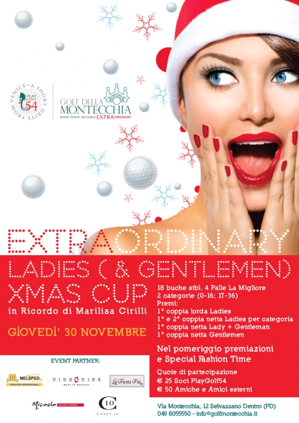 ExtraOrdinary Ladies (& Gentlemen) Xmas Cup - 30 novembre 2017