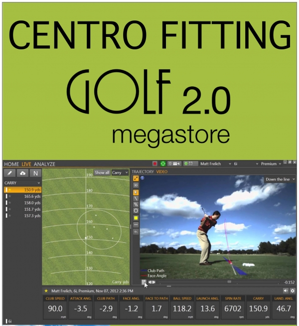 CLUB FITTING GOLF 2.0 Megastore