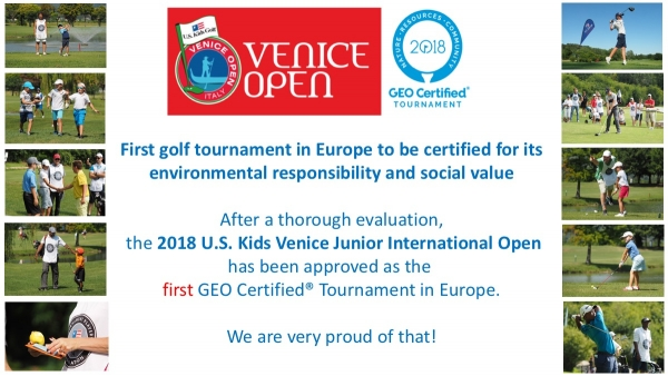 U.S. KIDS VENICE OPEN - GEO CERTIFIED